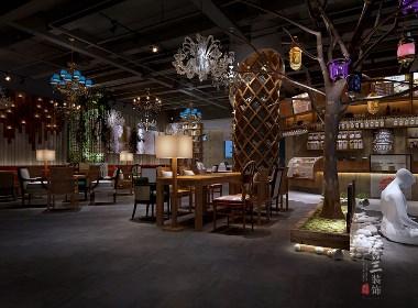莱茵香街咖啡厅-绵阳咖啡厅设计公司 绵阳专业咖啡厅设计 绵阳特色咖啡厅设计公司