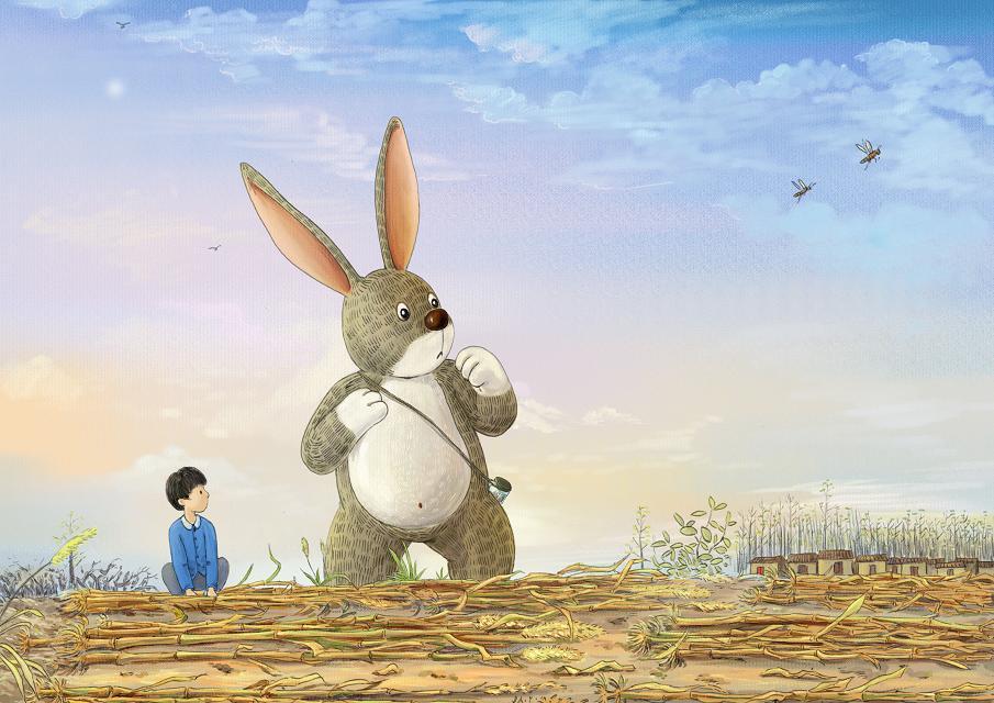 刘俊伟作品兔子先生
