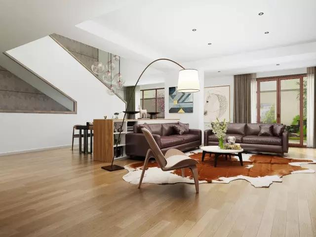 建业森林半岛别墅大宅350平现代简约风格装修样板间