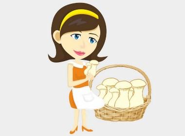 巴蜀味道金针菇杏鲍菇包装设计