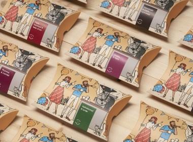 Talor&Jørgen咖啡品牌包装设计