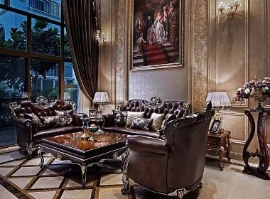 怡丰森林湖别墅大宅700平欧式风格装修样板间欣赏