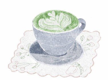 抹茶の味 —插画欣赏