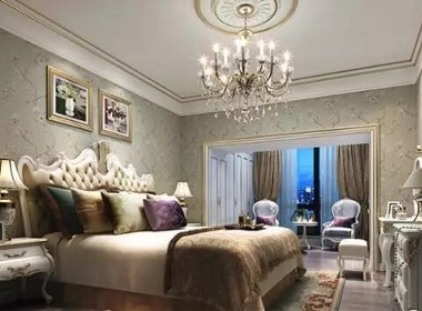 建业海马九如府四室两厅180平法式风格装修效果图欣赏