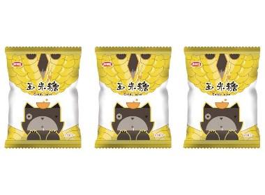 零食袋包装设计——玉米糖