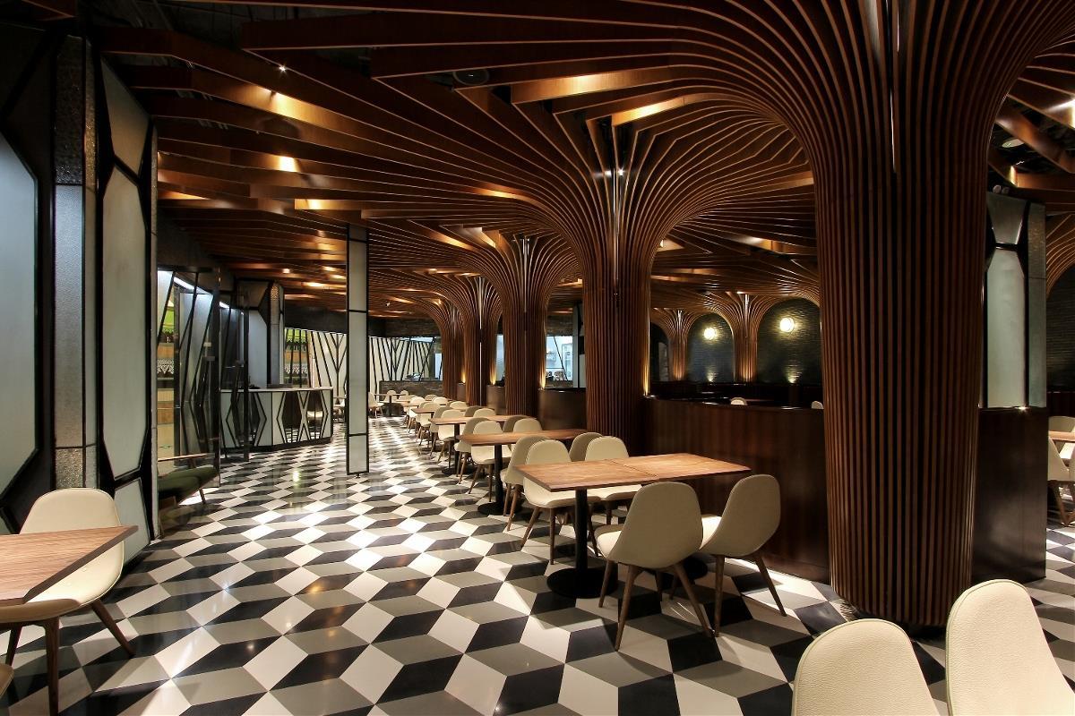 《酒吧餐厅》成都特色餐厅设计|成都专业餐厅装修公司|欧式餐厅装修风