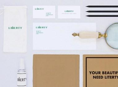 LIBERTY眼镜店品牌形象设计