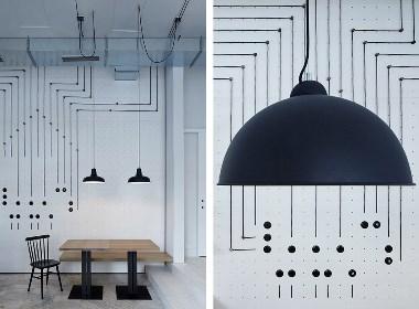 布拉格电气主题咖啡厅欧模网分享