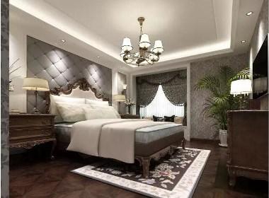 五月花城220平五室两厅简欧风格装修样板间欣赏
