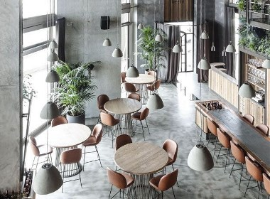 《北欧简约咖啡厅》成都咖啡厅装修设计|成都咖啡馆装修设计|成都专业咖啡厅装修设计公司-古兰装饰