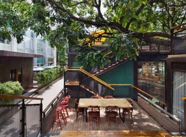 猫树里咖啡商业空间设计/摩尼视觉分享