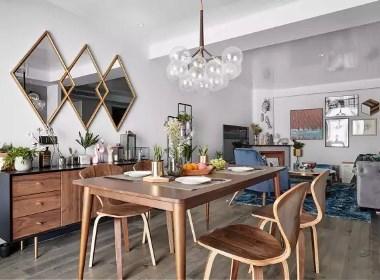 鑫苑名城两室两厅95平现代简约风格装修需要多少钱