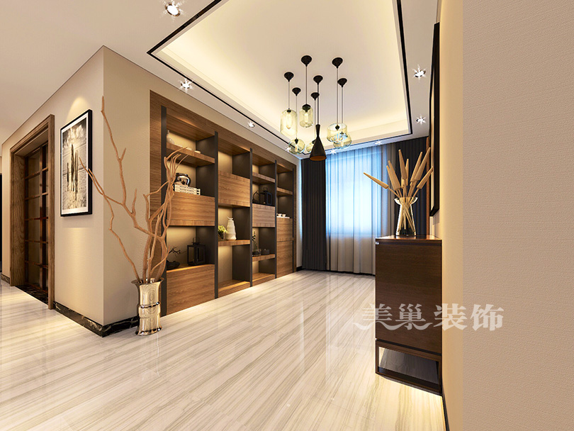 小區名稱: 新芒果春天 房子戶型: 大平層 裝修風格: 現代簡約風格