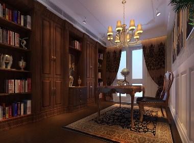 鸿园500平别墅大宅奢华欧式风格装修样板间欣赏