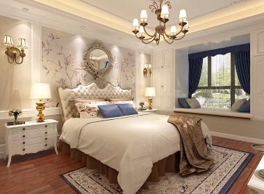 正商红河谷别墅大宅370平美式风格装修需要多少钱