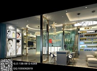 蓝梦美容美体SPA-成都美容美体设计公司|成都美容院装修公司|成都专业美容院设计公司案例分享