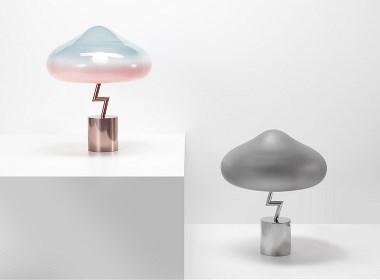 蘑菇云台灯设计