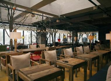 """咖啡厅设计——""""漫咖啡""""北京丽都店"""