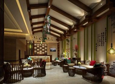 子规西庭酒店原创设计——成都专业酒店设计|古兰装饰