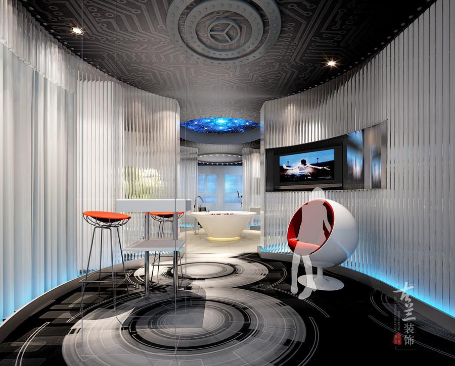 酒店线情趣主题故事--简阳交集主题装修设计公情趣用品酒店男生图片