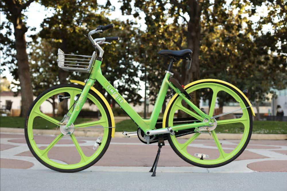 美国版摩拜LimeBike共享单车logo及UI设计