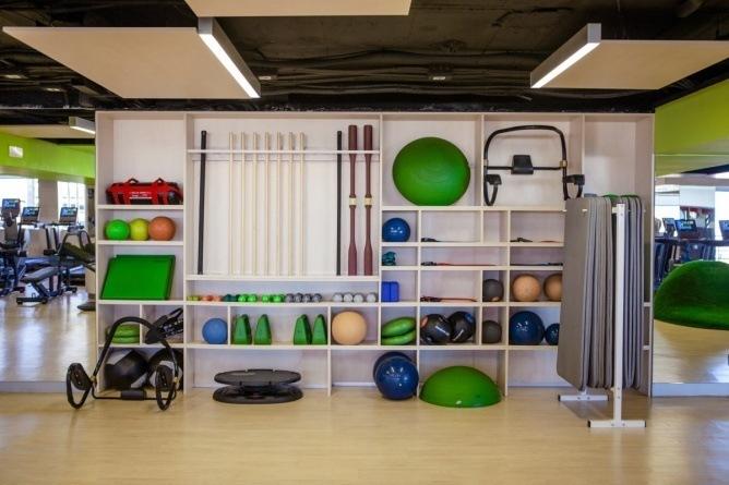 《健身俱乐部》成都健身房装修设计|成都专业