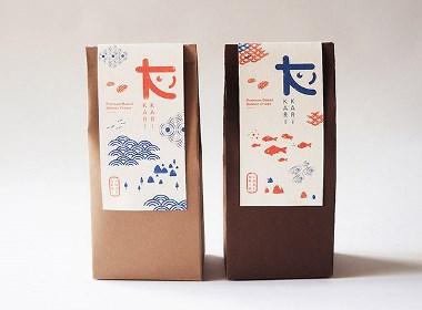 Kari Kari日式零食包装设计