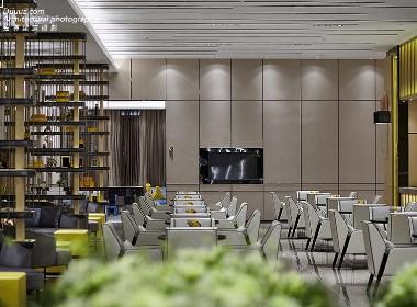 空与间建筑摄影:海伦天麓售楼部专业摄影图
