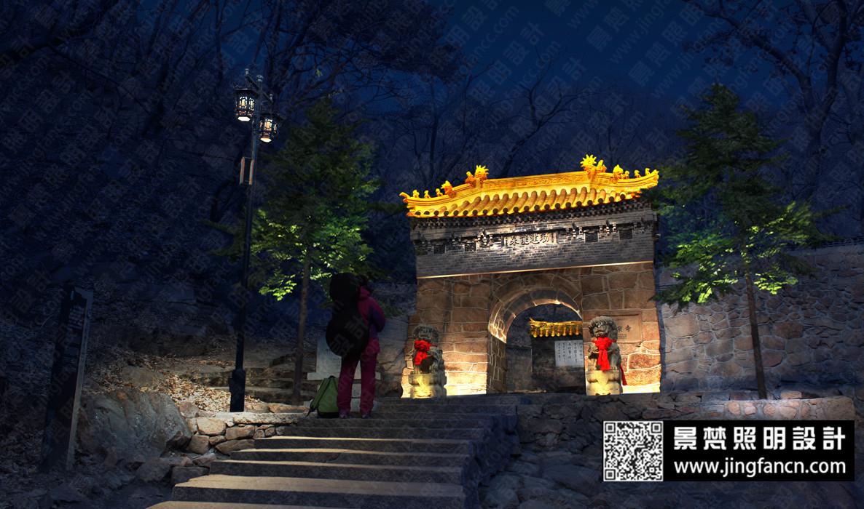 楼体建筑商业景观桥梁街道广场规划照明亮化灯光设计ps夜景效果图