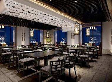"""新中式餐厅设计——""""秦肴越宴"""""""