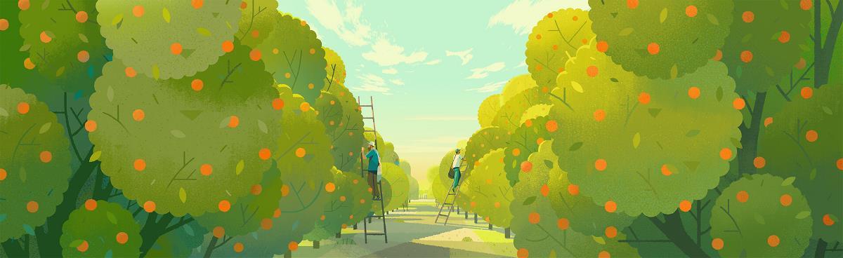 风景插画欣赏