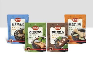 福煲煲速食紫菜系列包装设计