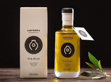 国外知名的橄榄油包装设计欣赏   摩尼视觉分享