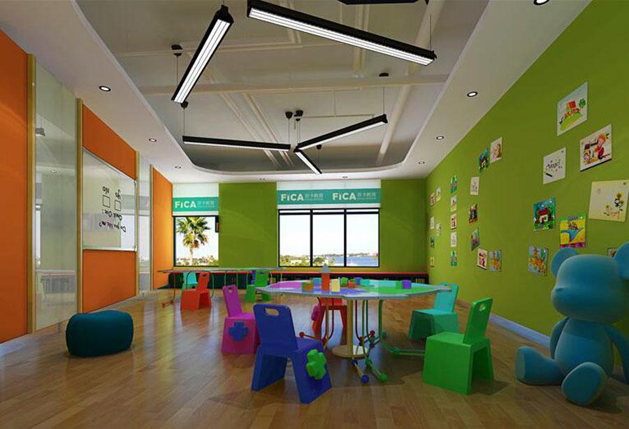 自贡培训机构设计公司-古兰装饰