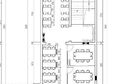 餐厅施工图全套