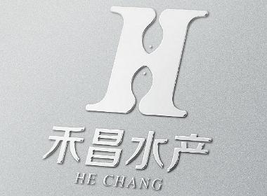 禾昌水产logo