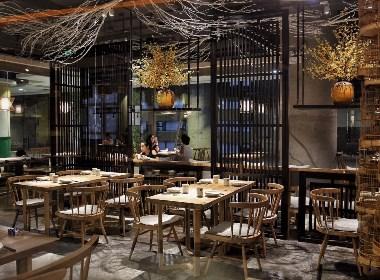 《原生态素食餐厅》成都特色餐厅装修设计|成都专业餐厅装修设计公司|古兰装饰
