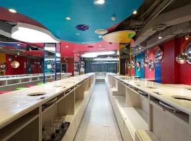餐饮空间设计——北京小渡火锅