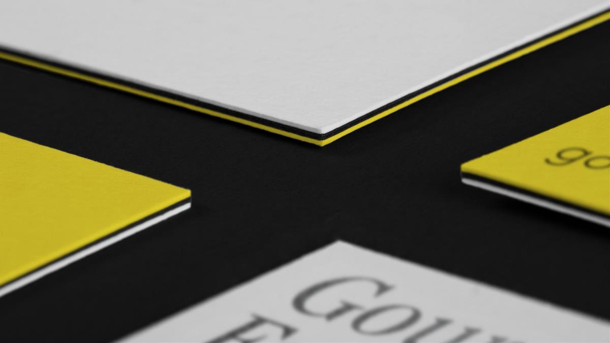极简黄色食品类VI设计