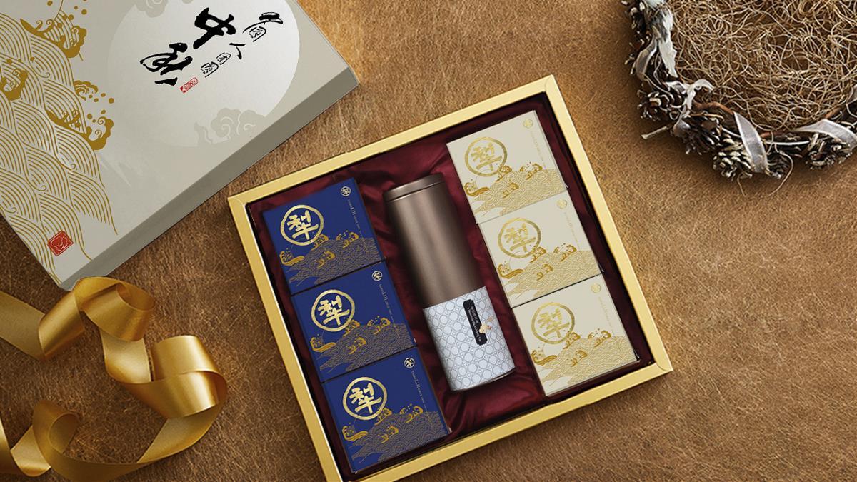 百年品牌台北犂记月饼包装设计【金盈满贯系列】 | 摩尼视觉原创作品