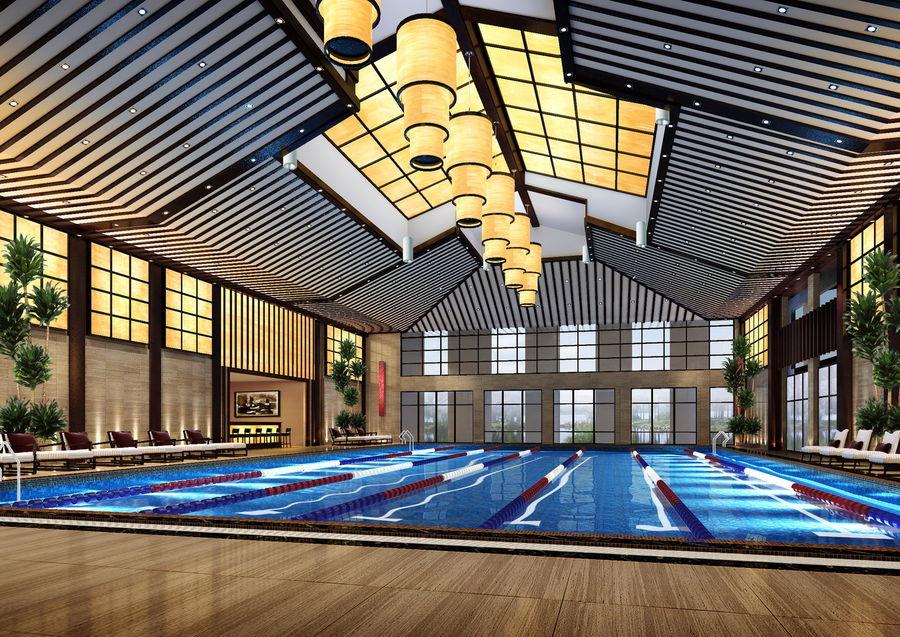 德馨温泉酒店--吴忠酒店装修设计公司--古兰装饰