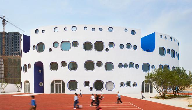 Loop国际幼儿园--楚雄幼儿园装修设计公司--古兰装饰