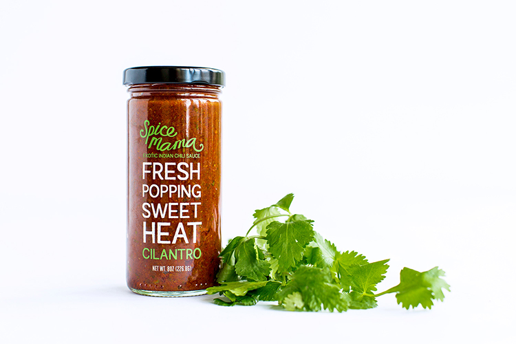 Spice Mama Exotic Indian Chili Sauces品牌包装设计欣赏 | 摩尼视觉