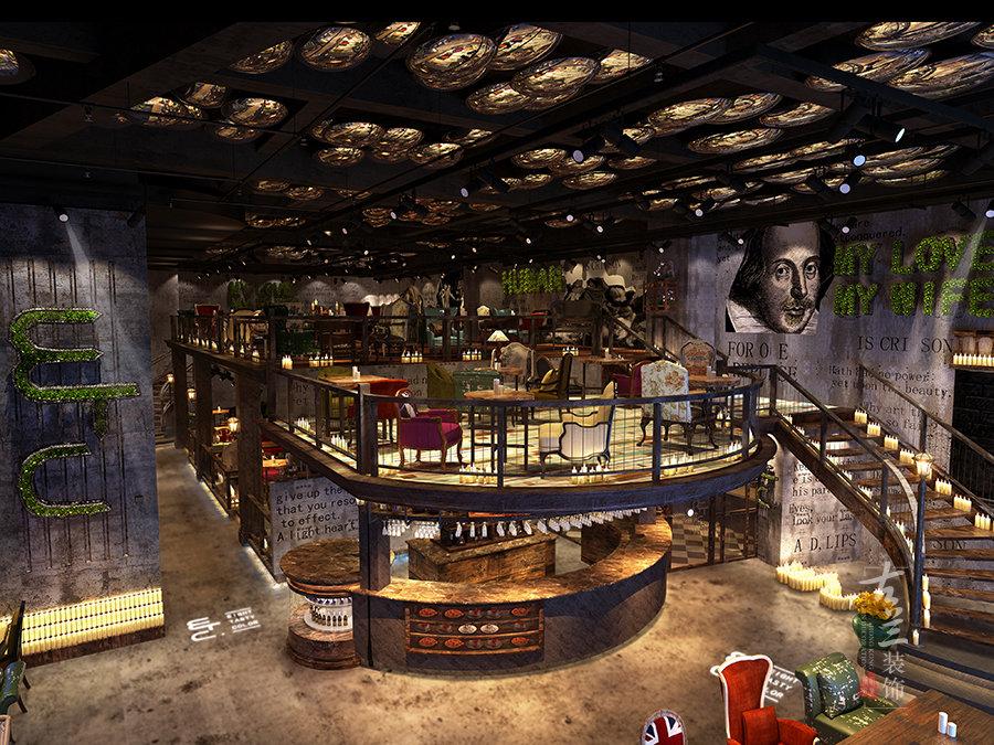 玉林咖啡厅装修设计公司-古兰装饰