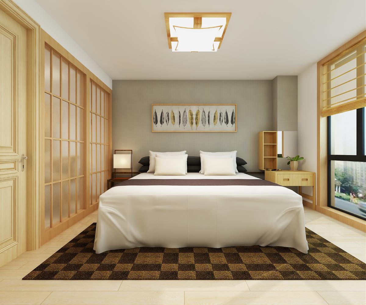 日式风格 客厅 餐厅 卧室