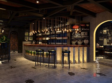 COCO咖啡厅-玉林咖啡厅装修设计公司-古兰装饰
