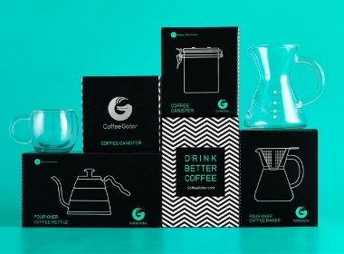 Coffee Gator咖啡容器包装设计