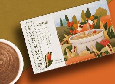 红豆薏米枸杞粉