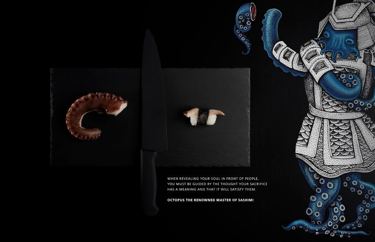 日本Samurai Japanese Cuisine茶包装设计欣赏 | 摩尼视觉