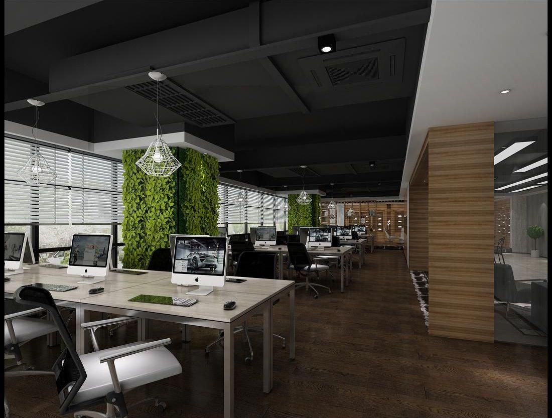 第二:办公区域  这里主要讲员工的办公室,可以做成封闭式的,符合个人图片